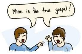 mine is the true gospel